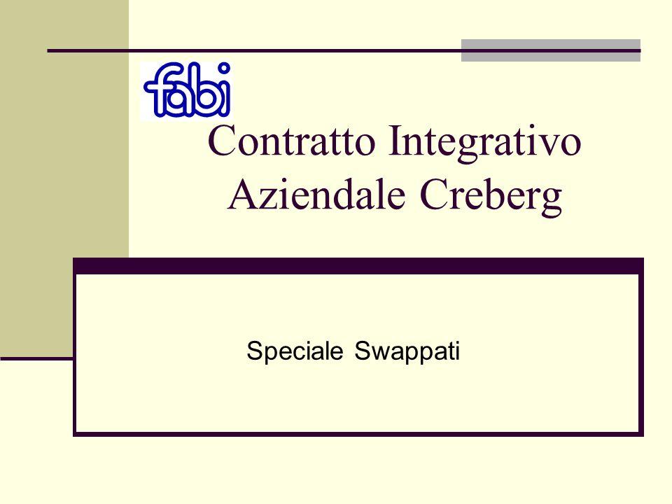 Contratto Integrativo Aziendale Creberg