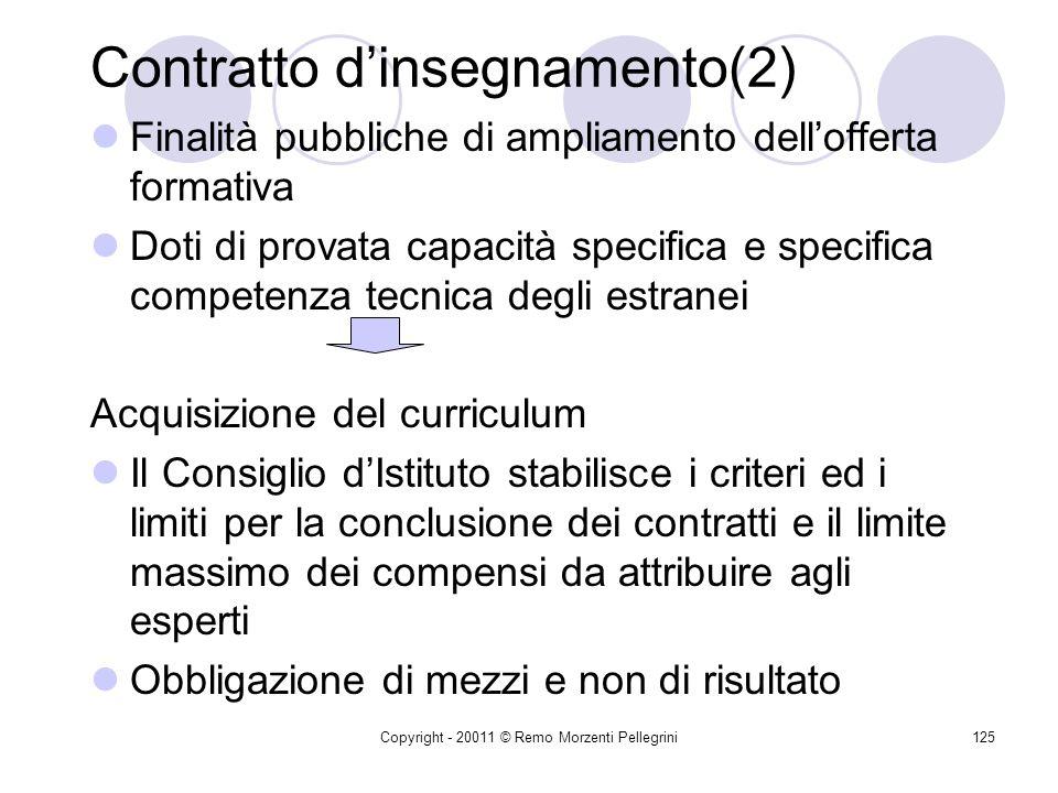 Contratto d'insegnamento(2)