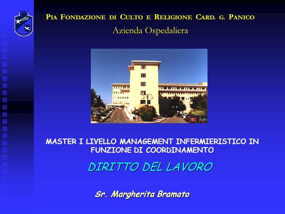 PIA FONDAZIONE DI CULTO E RELIGIONE CARD. G. PANICO