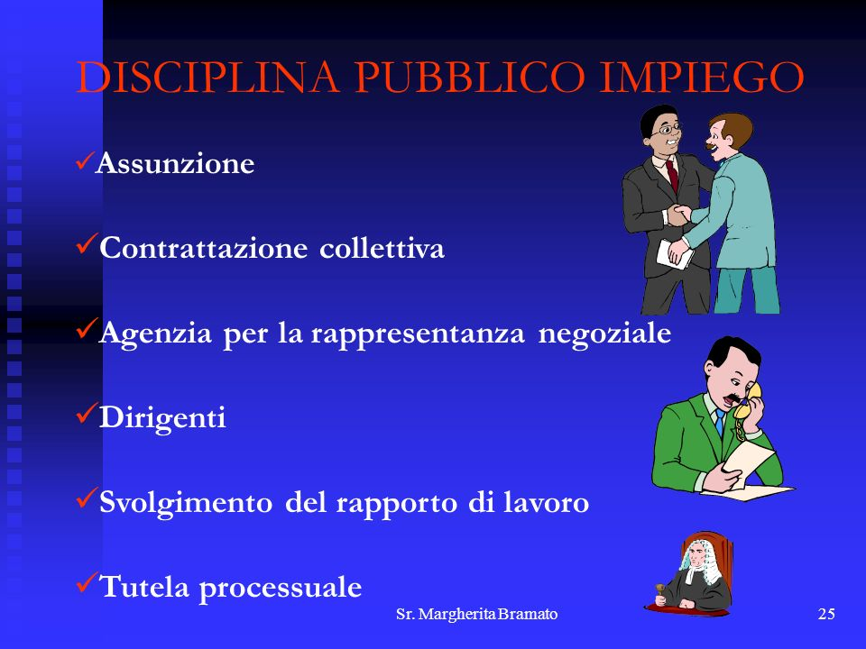 DISCIPLINA PUBBLICO IMPIEGO