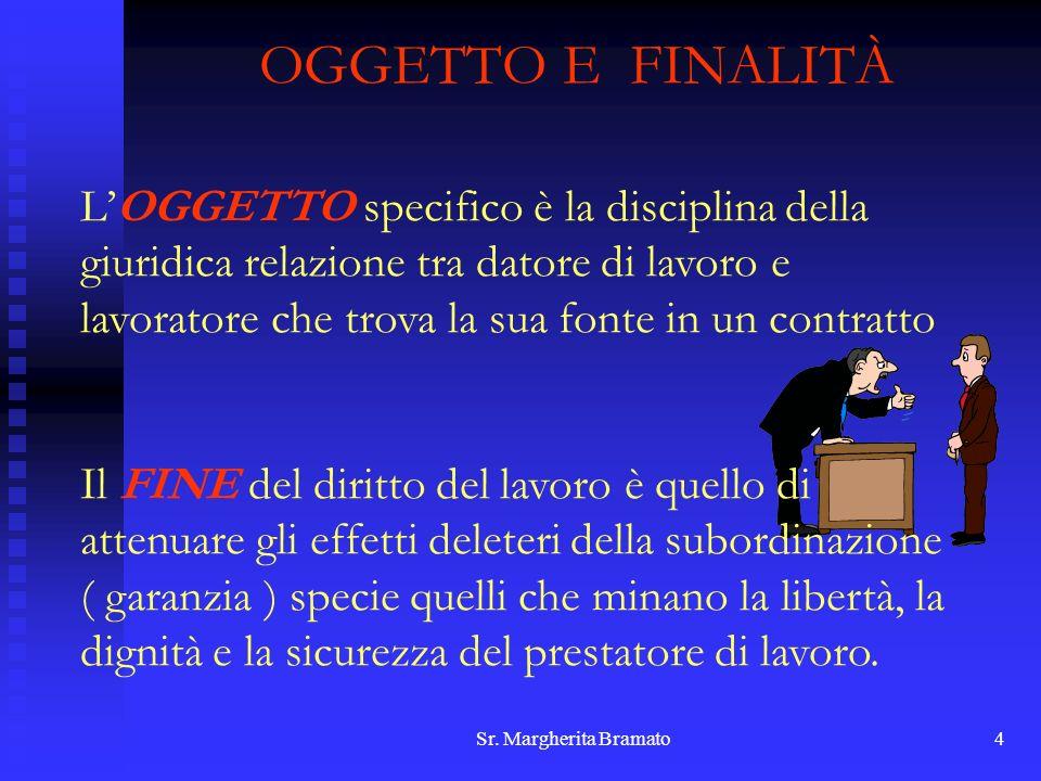 OGGETTO E FINALITÀ