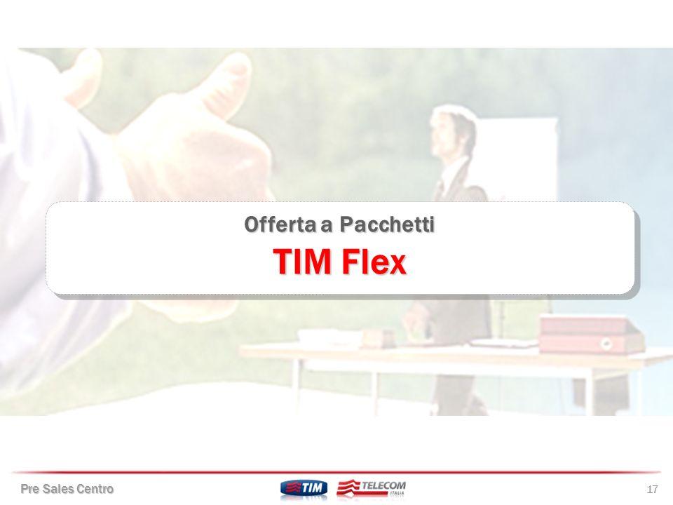Offerta a Pacchetti TIM Flex