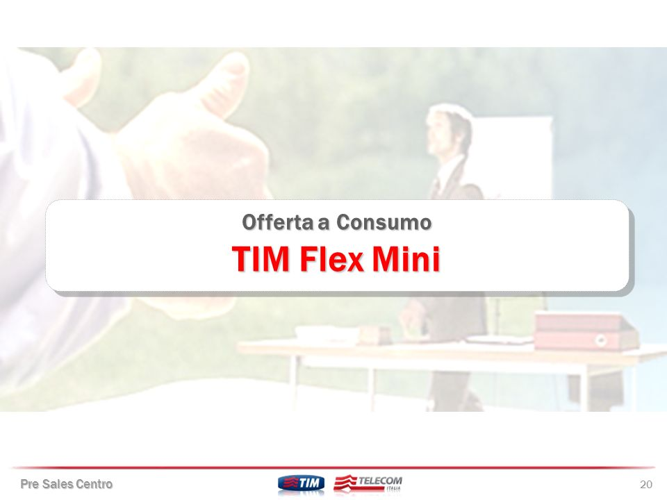 Offerta a Consumo TIM Flex Mini