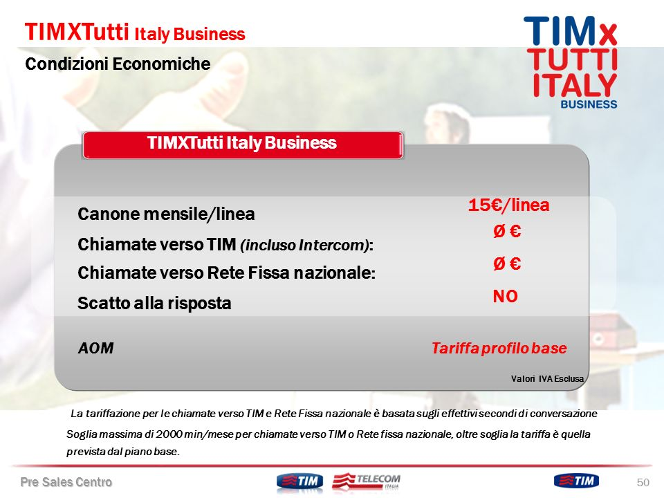 TIMXTutti Italy Business