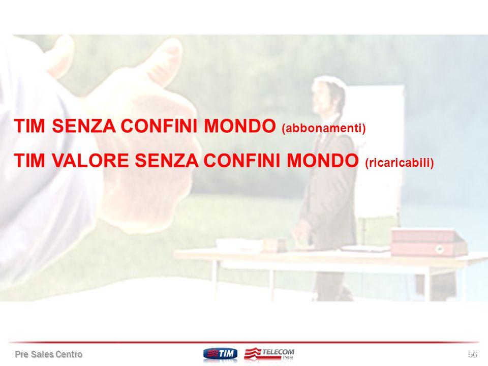 TIM SENZA CONFINI MONDO (abbonamenti)