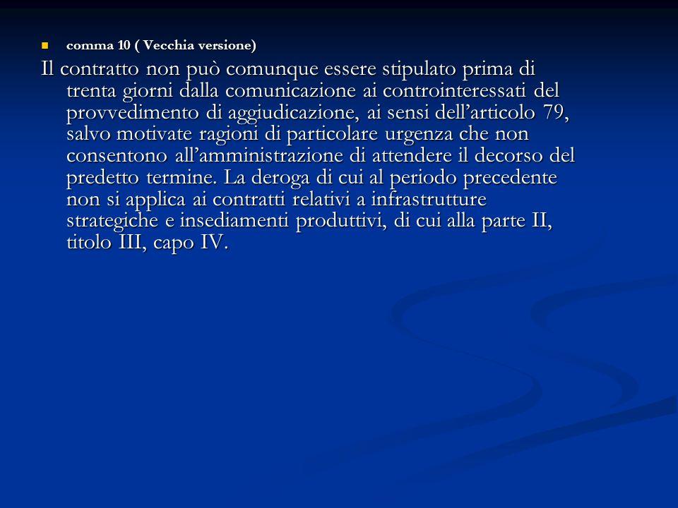 comma 10 ( Vecchia versione)