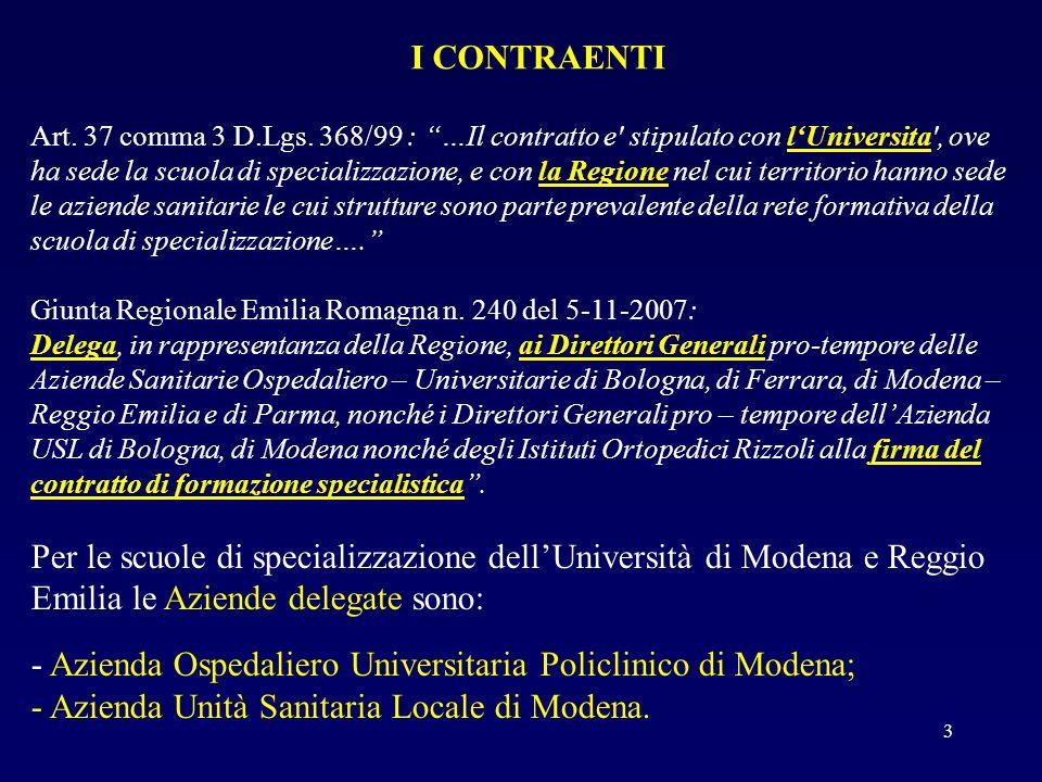 - Azienda Ospedaliero Universitaria Policlinico di Modena;