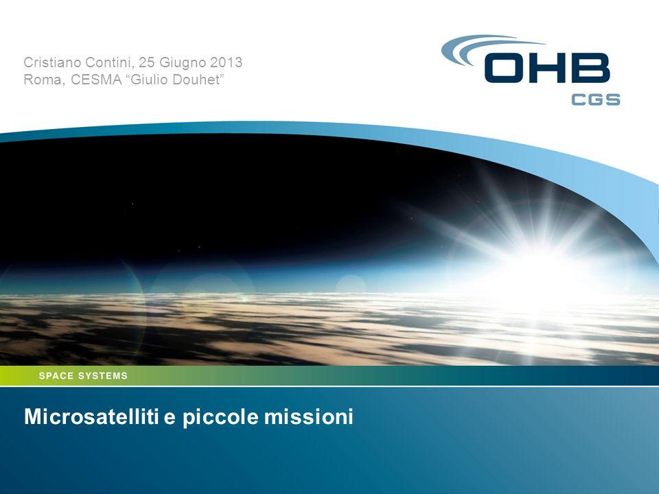 Microsatelliti e piccole missioni