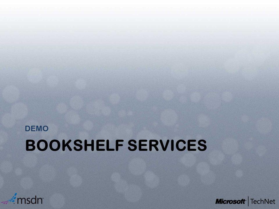 DEMO Bookshelf services