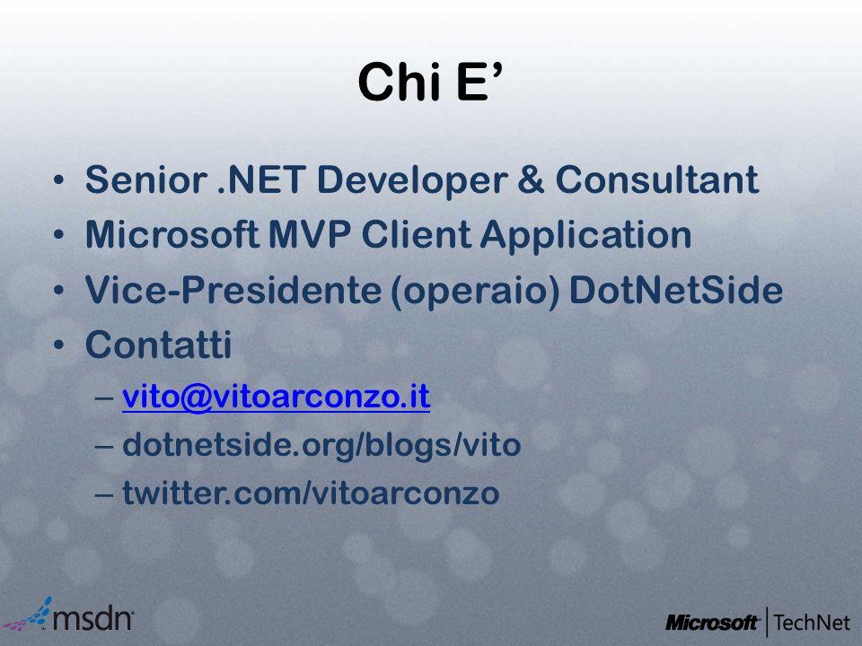 Chi E' Senior .NET Developer & Consultant