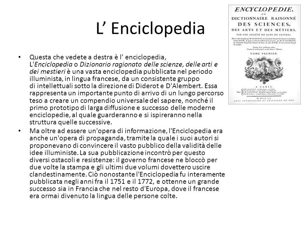 L' Enciclopedia
