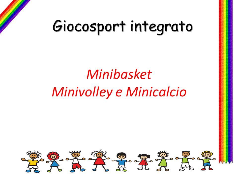 Minibasket Minivolley e Minicalcio