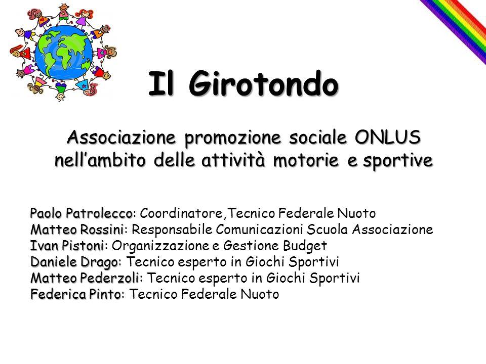 Il Girotondo Associazione promozione sociale ONLUS nell'ambito delle attività motorie e sportive