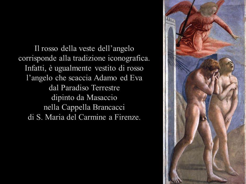 dal Paradiso Terrestre dipinto da Masaccio nella Cappella Brancacci