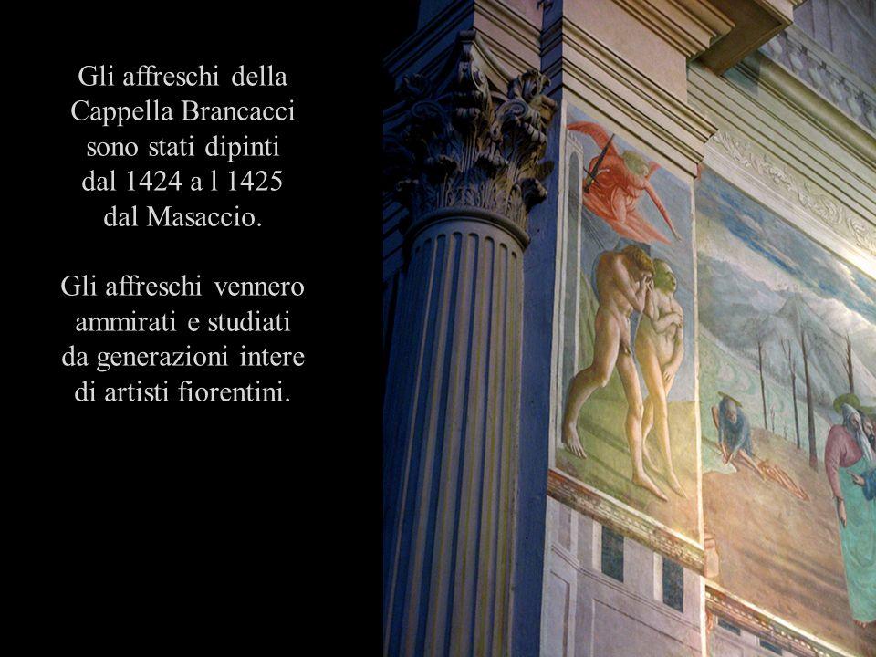Gli affreschi della Cappella Brancacci