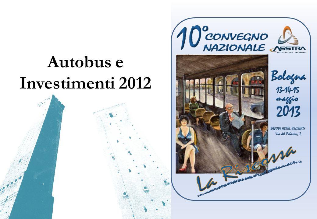 Autobus e Investimenti 2012