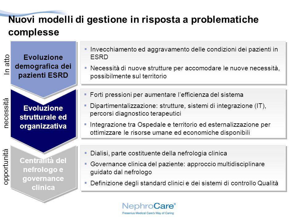Nuovi modelli di gestione in risposta a problematiche complesse