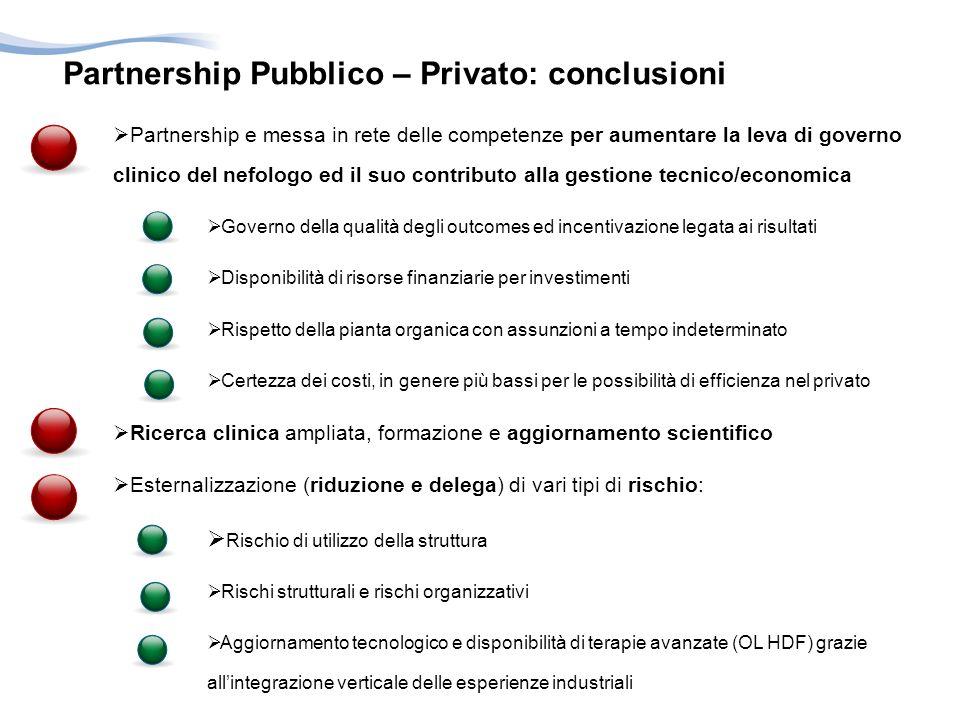 Partnership Pubblico – Privato: conclusioni