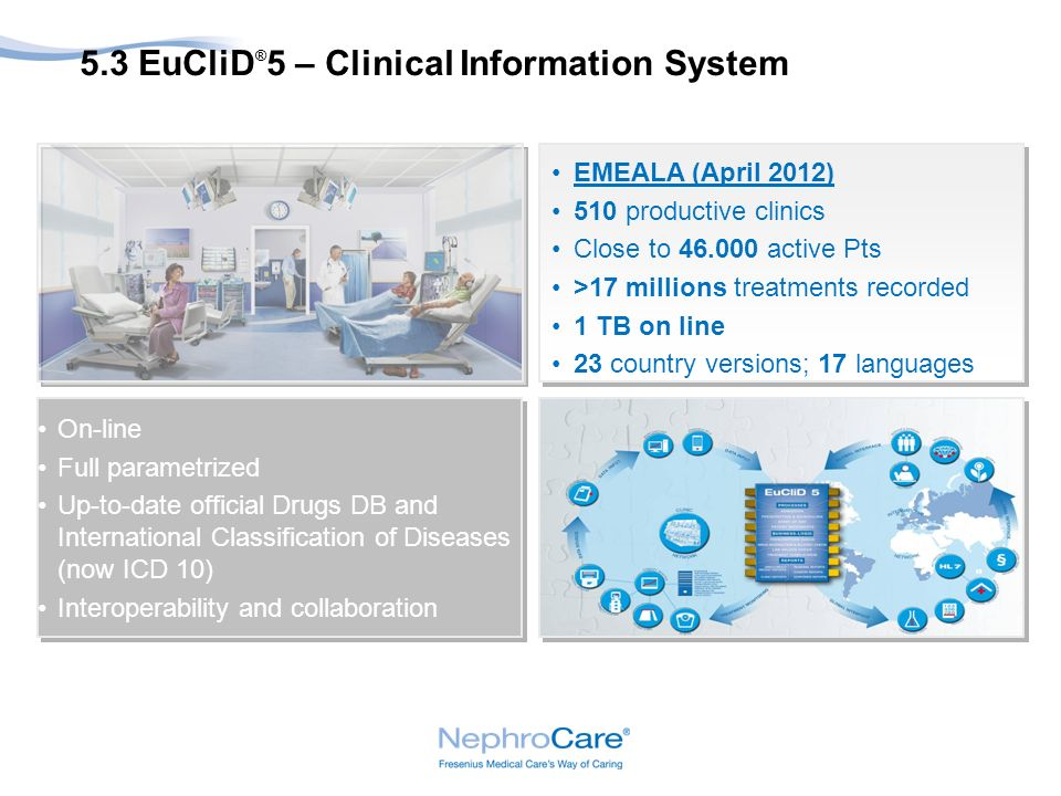 5.3 EuCliD®5 – Clinical Information System