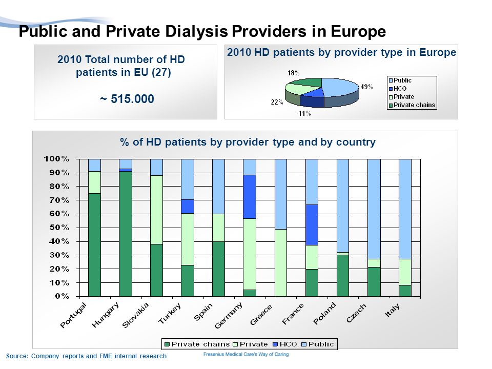 Public and Private Dialysis Providers in Europe