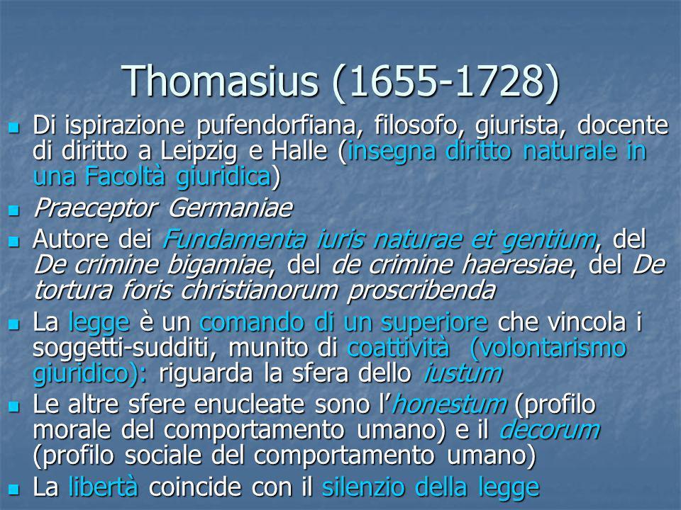 Thomasius (1655-1728)