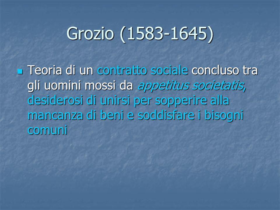 Grozio (1583-1645)