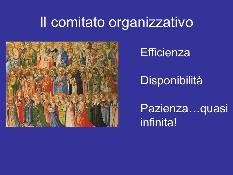 Il comitato organizzativo