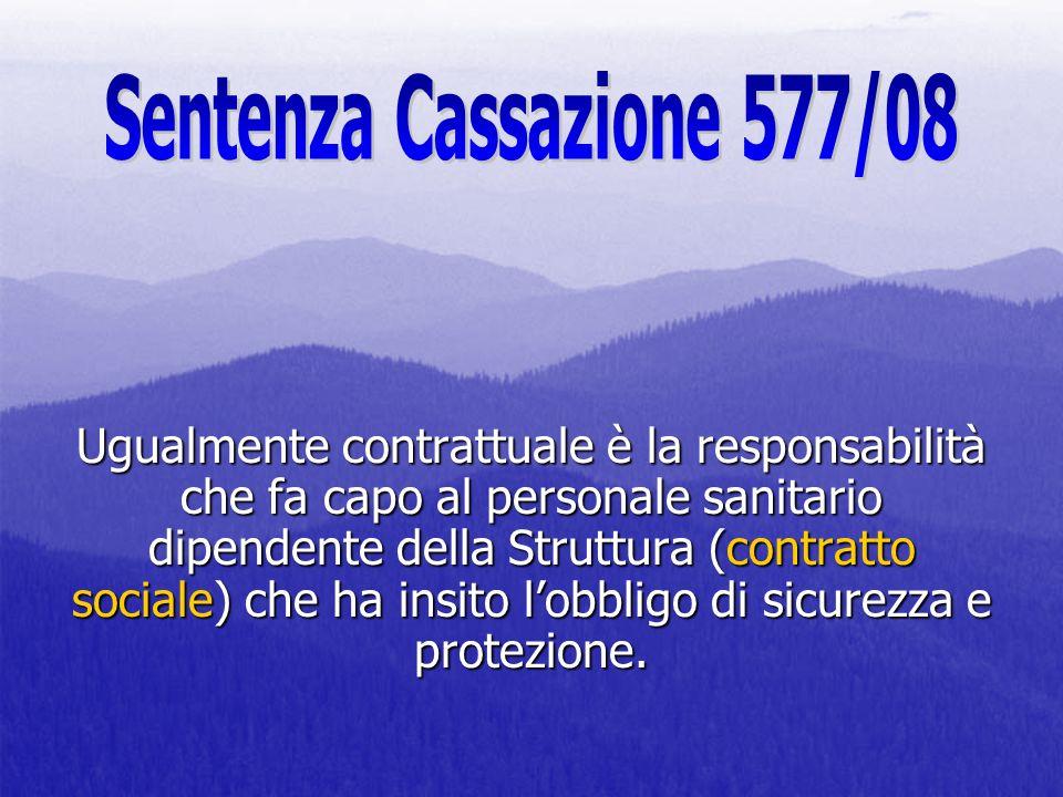 Sentenza Cassazione 577/08