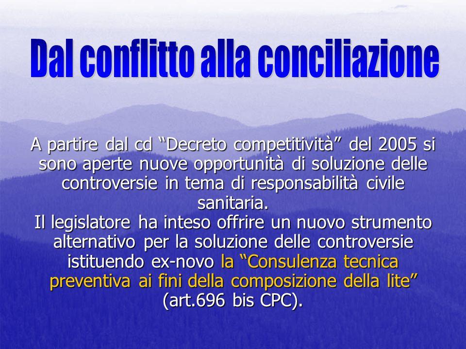 Dal conflitto alla conciliazione