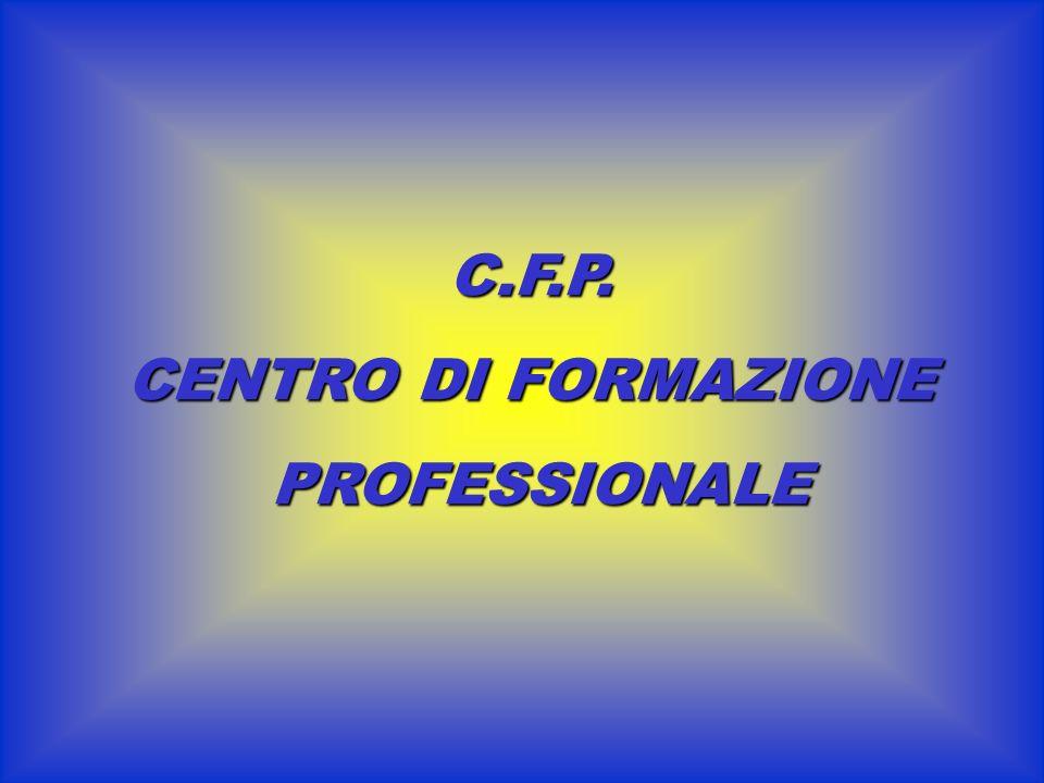 C.F.P. CENTRO DI FORMAZIONE PROFESSIONALE
