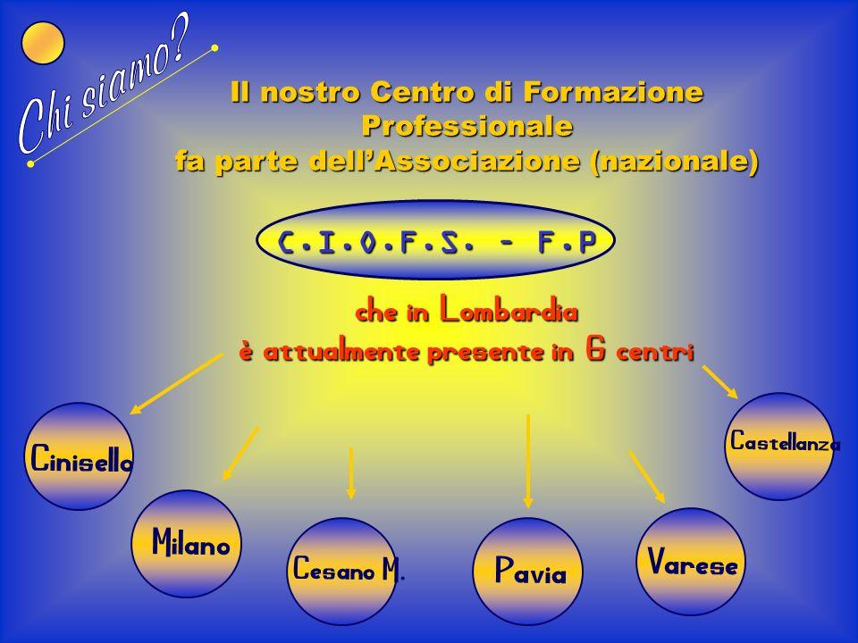Chi siamo che in Lombardia è attualmente presente in 6 centri