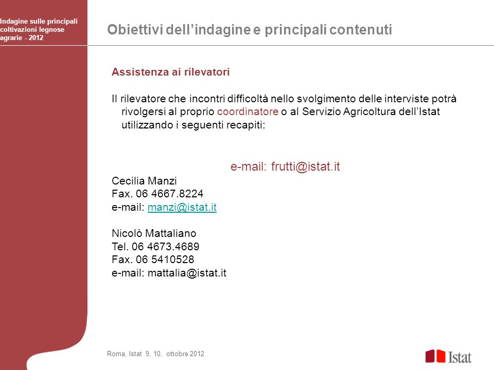 e-mail: frutti@istat.it