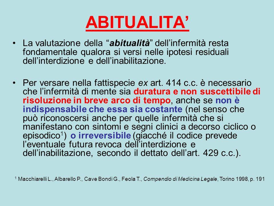 ABITUALITA'