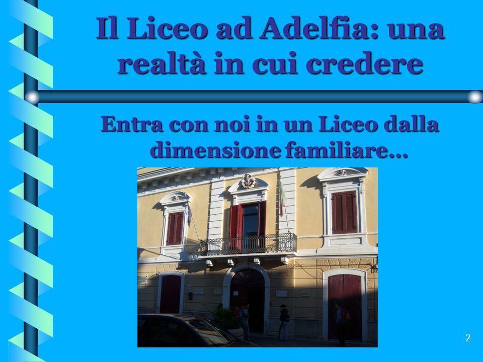 Il Liceo ad Adelfia: una realtà in cui credere