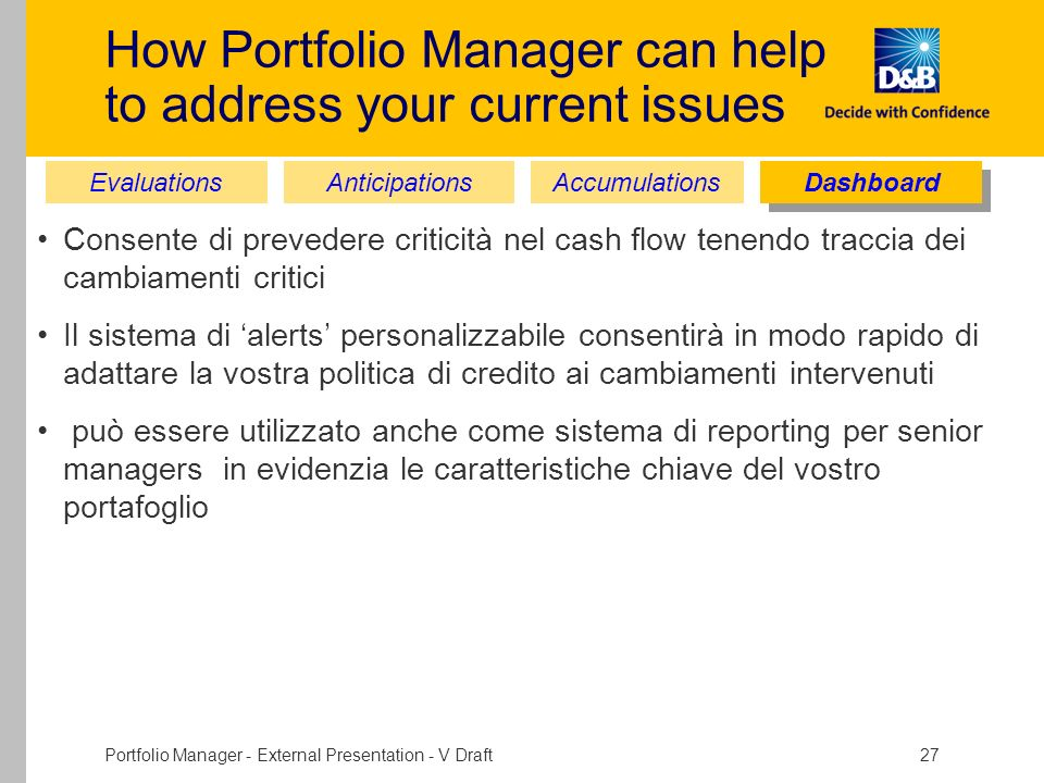 How Portfolio Manager can help to address your current issues