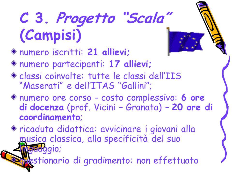 C 3. Progetto Scala (Campisi)