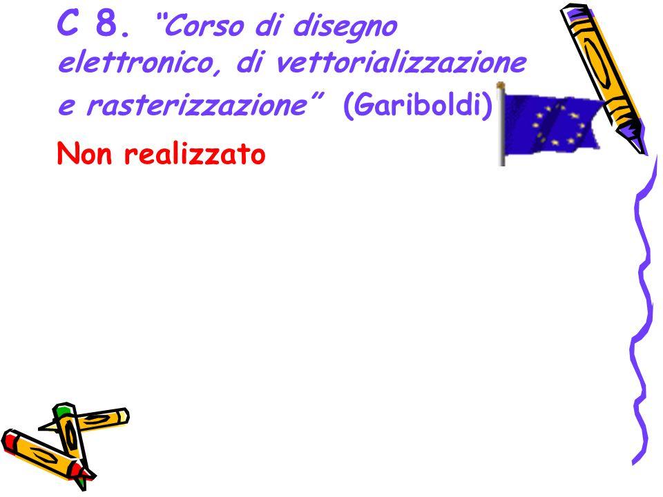C 8. Corso di disegno elettronico, di vettorializzazione e rasterizzazione (Gariboldi)
