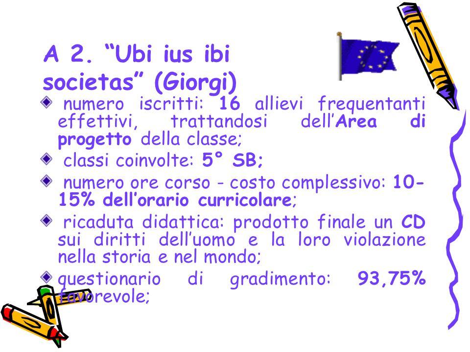 A 2. Ubi ius ibi societas (Giorgi)