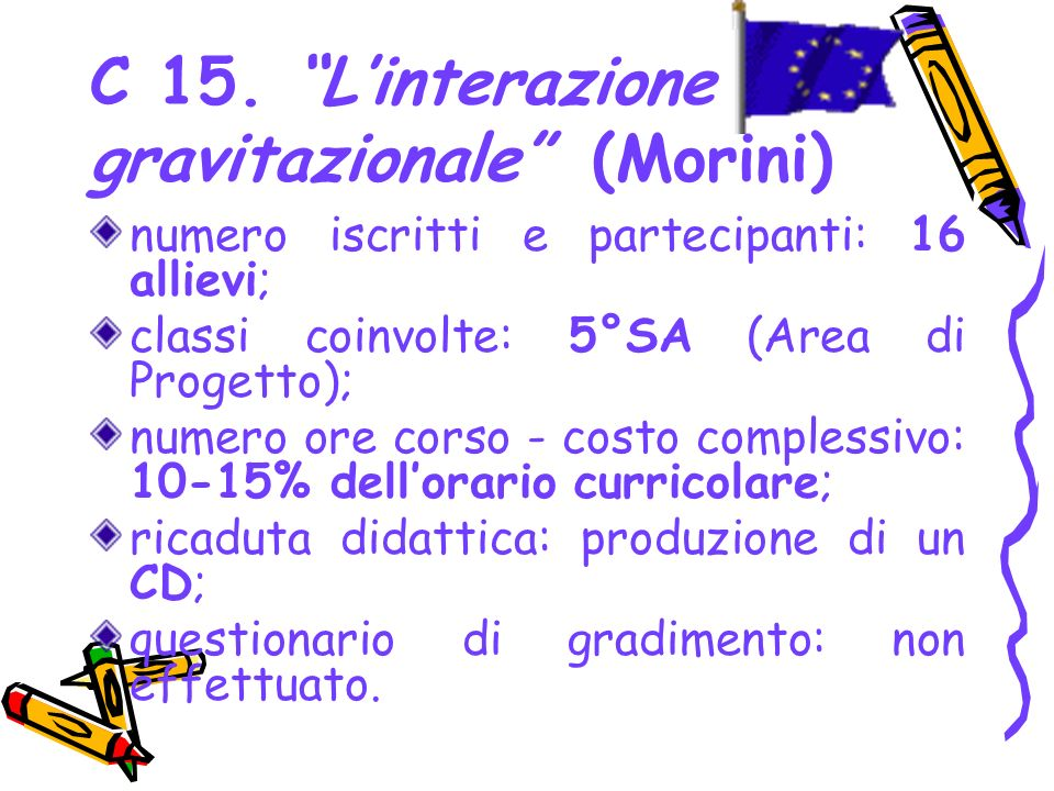 C 15. L'interazione gravitazionale (Morini)