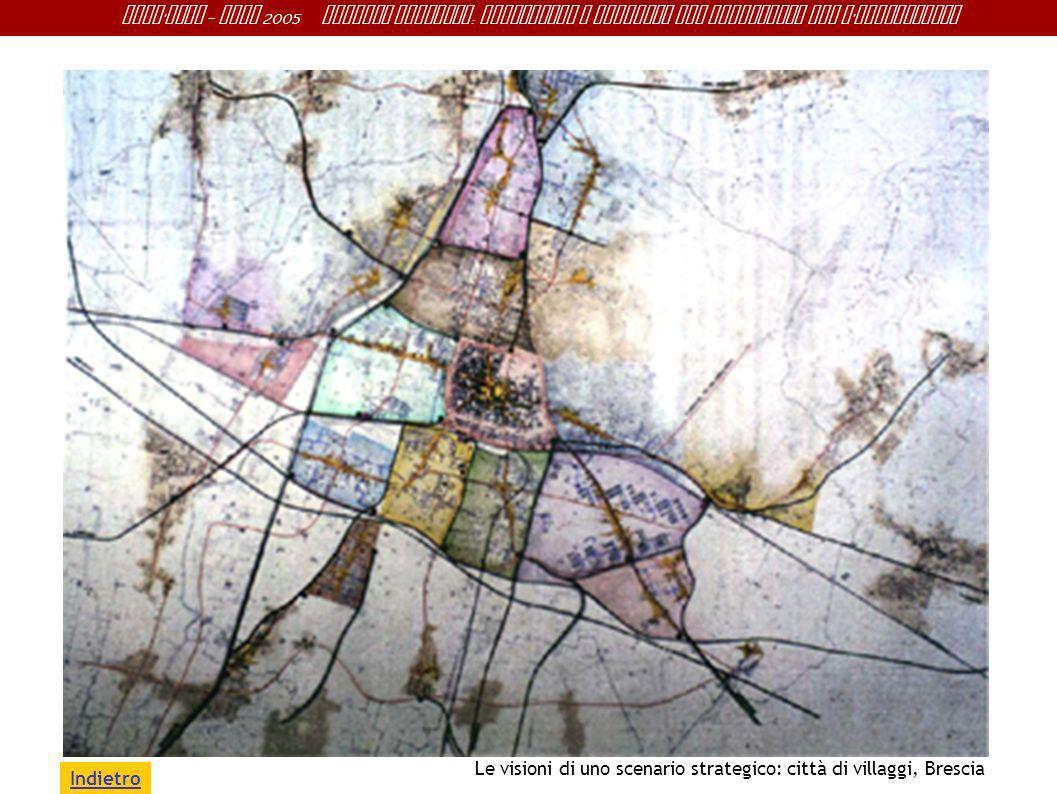 Indietro Le visioni di uno scenario strategico: città di villaggi, Brescia