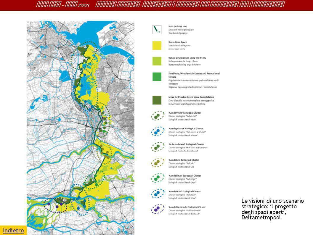 Le visioni di uno scenario strategico: il progetto degli spazi aperti, Deltametropool
