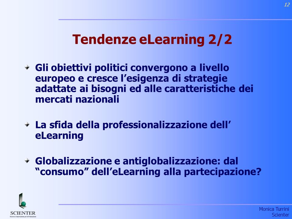 Tendenze eLearning 2/2