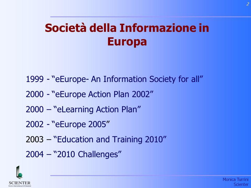 Società della Informazione in Europa