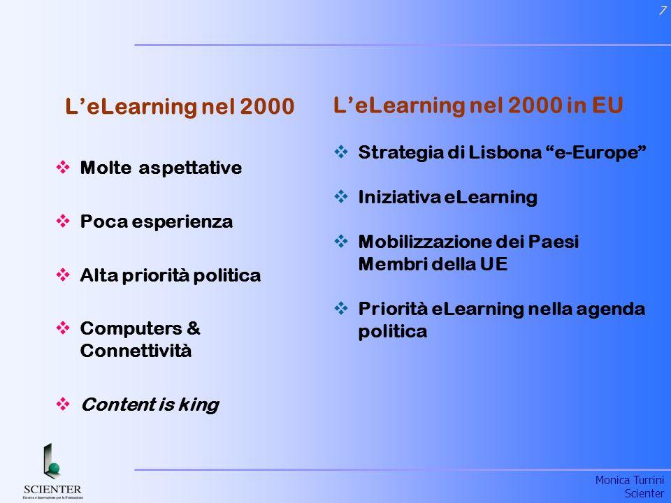 L'eLearning nel 2000 L'eLearning nel 2000 in EU