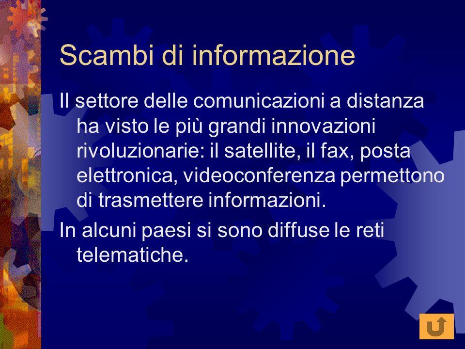 Scambi di informazione