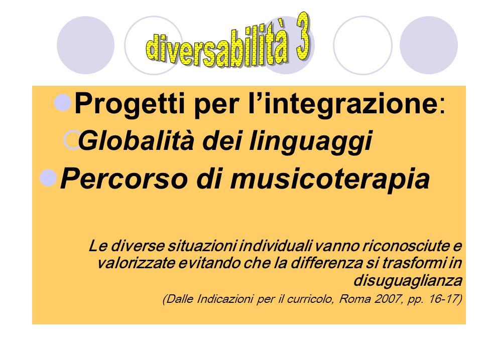 Progetti per l'integrazione: