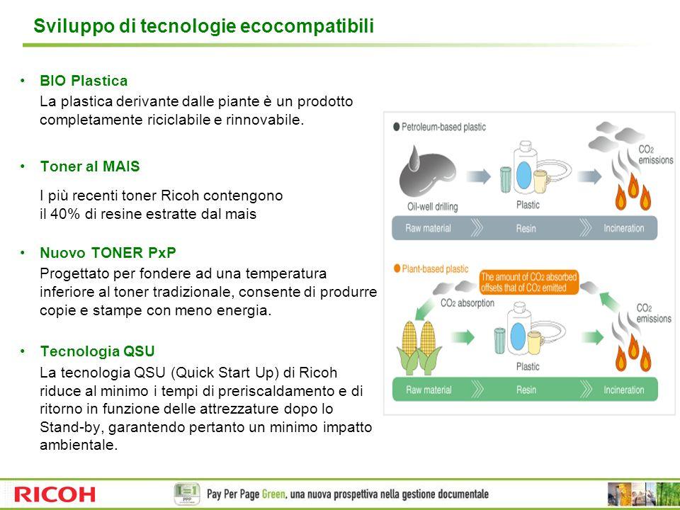 Sviluppo di tecnologie ecocompatibili
