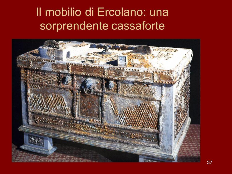 Il mobilio di Ercolano: una sorprendente cassaforte