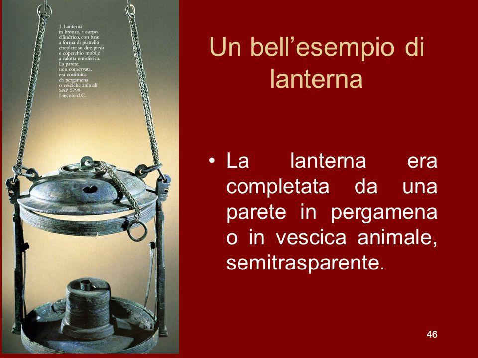 Un bell'esempio di lanterna