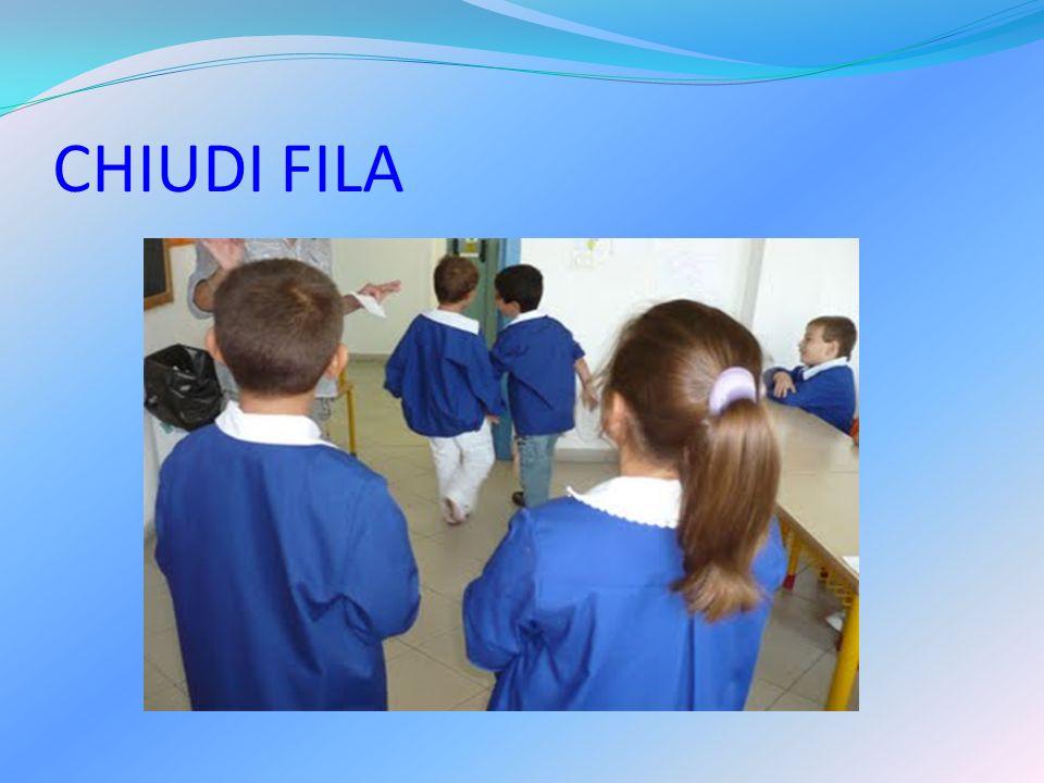 CHIUDI FILA